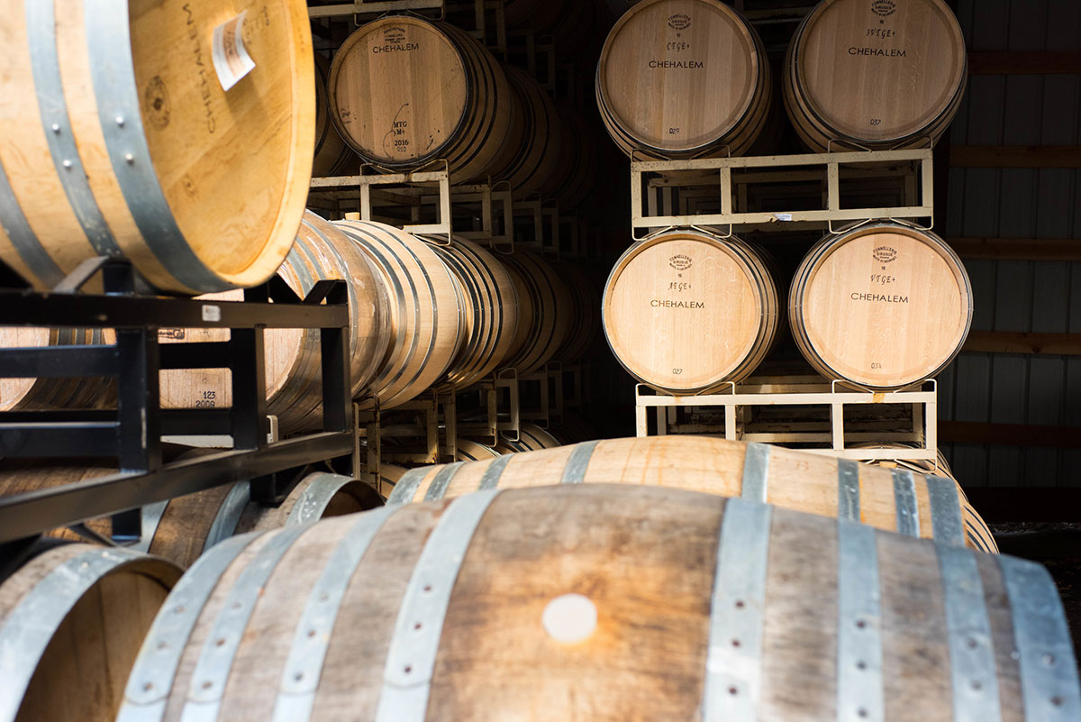 Oregon Wine Barrels Chehalem